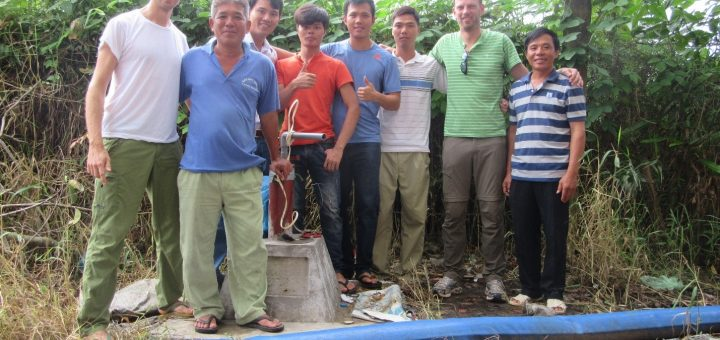 20161212-Pumping&Tracer test in U Minh_03